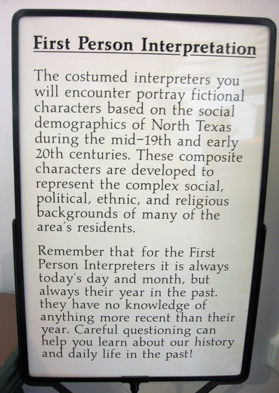 First Person Interpreter Sign