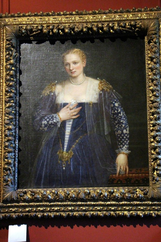 Portrait of a Venetian woman known as The Beautiful Nani by Tintoretto.