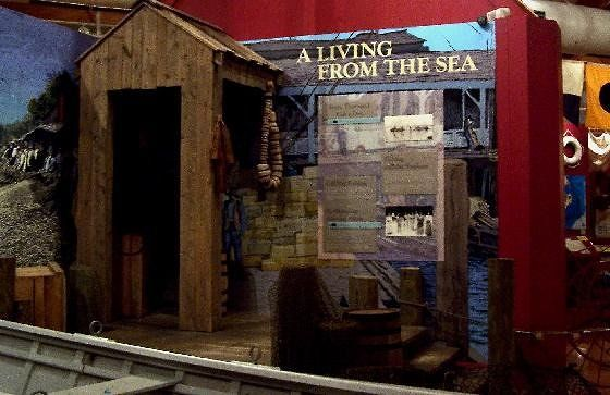 Display on making a living on the sea