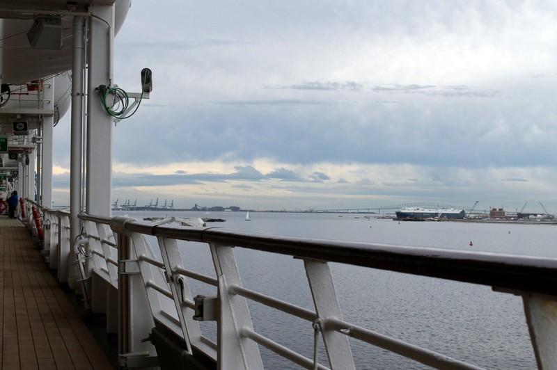 Francis Scott Key bridge in the distance