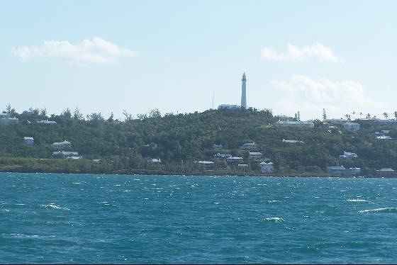 Gibbs Lighthouse from the ferry