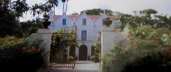 St. Nicholas Abbey from outside the gates