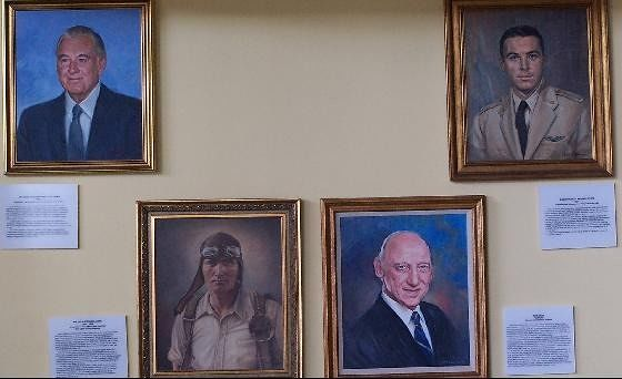 Four Aviation Pioneers