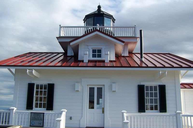 1877 Roanoke Marshes Lighthouse 2004 Replica