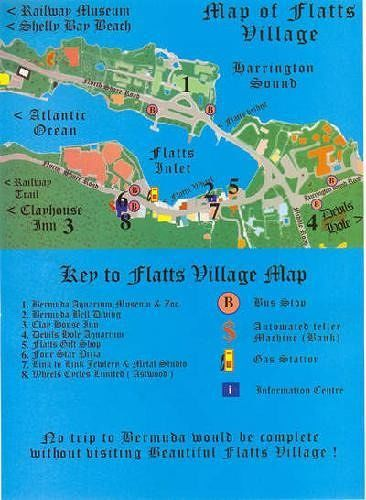 Map of the village from Bermudatourism.com