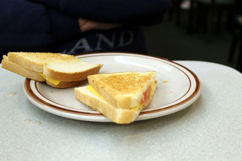 Bob's senior cheese sandwich $5.69
