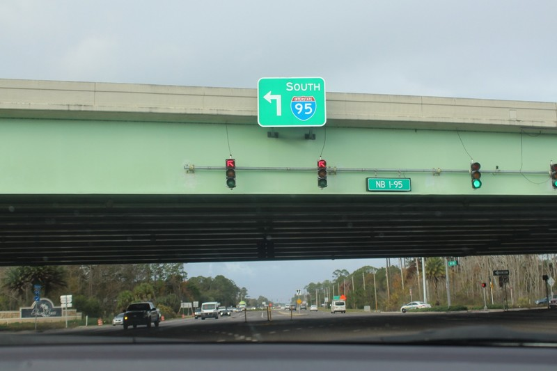 Getting on I-95
