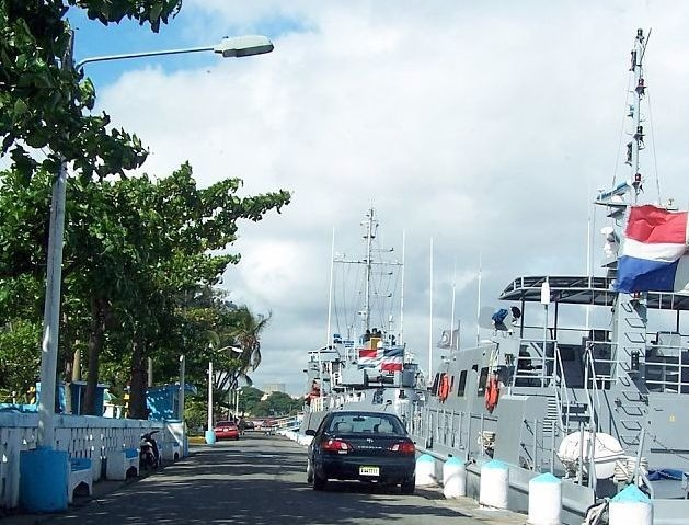 Ships on the Navy base