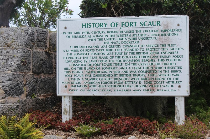 History of Fort Scaur