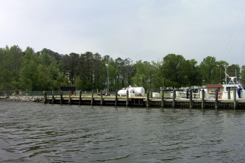 Coast Guard fuel tanks