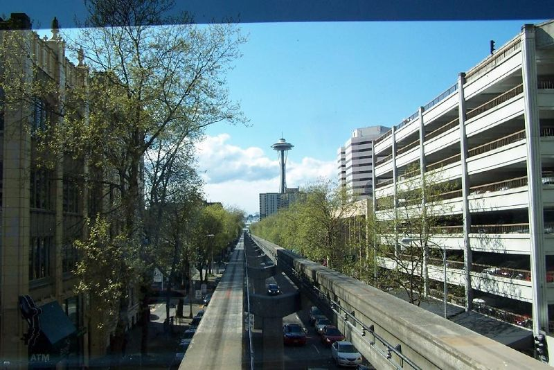 Monorail to Space Needle in 2011