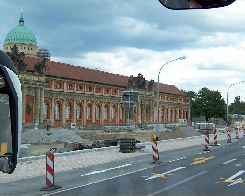 Approaching the Potsdam Filmmuseum