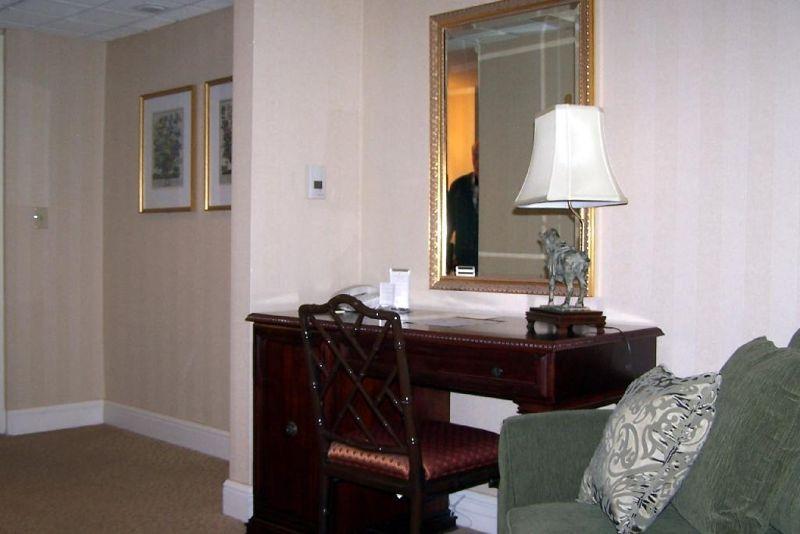 from bed looking toward door of room