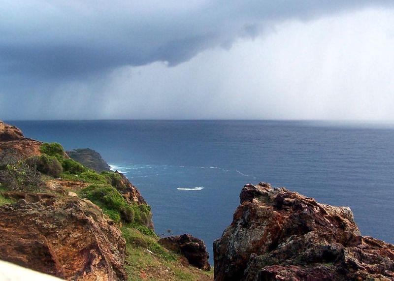 Rainstorm approaching - Antigua and Barbuda