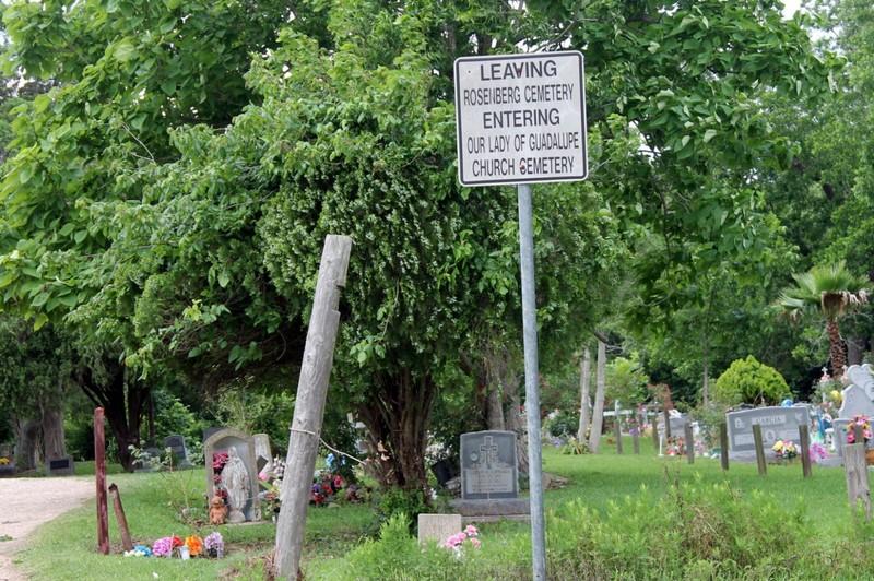 Leaving Rosenburg Cemetery