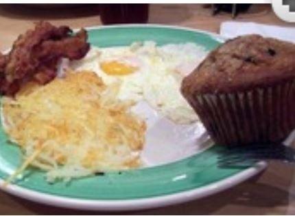 Breakfast for Dinner at Perkins