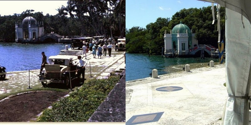 Tea House on the Water side of Vizcaya - 1967-2004