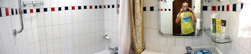 Panorama bathroom photo