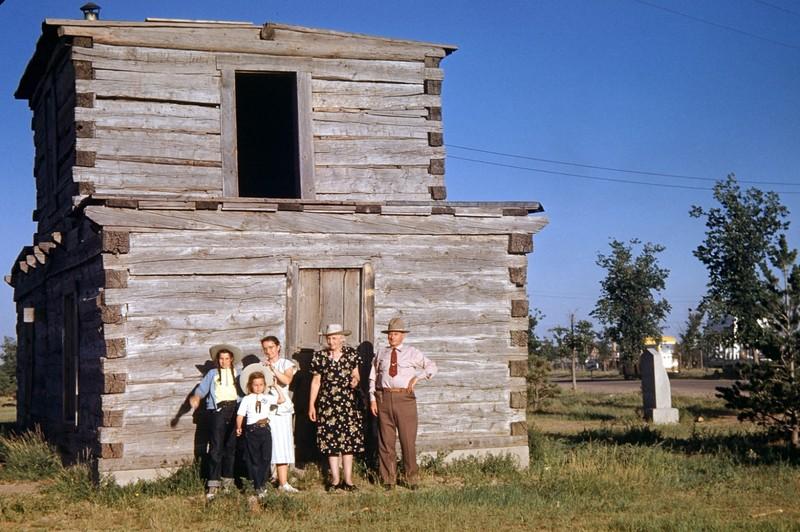 Baker Cabin, Frontier Park, Cheyenne, WY