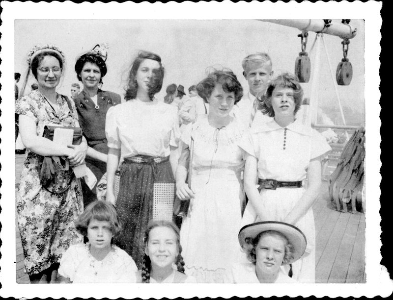 ryf, Margaret, RA, friend of Burrowes, Curtis, Mariby - front - freind of Burrowes, Barbara, Catherine