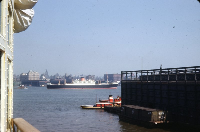 Leaving the pier