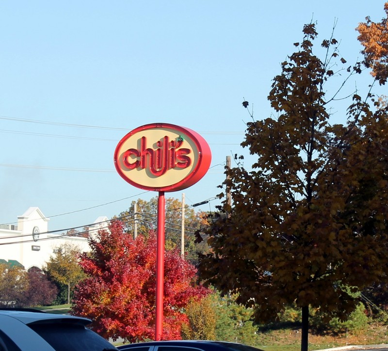 Chili's next to the hotel