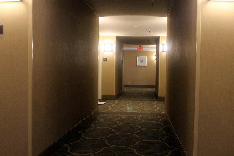 hall of the hotel