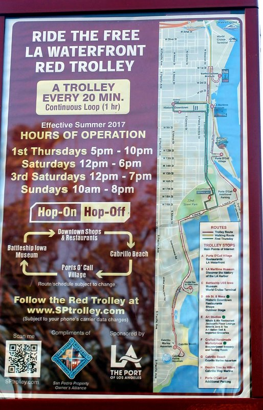 Trolley route