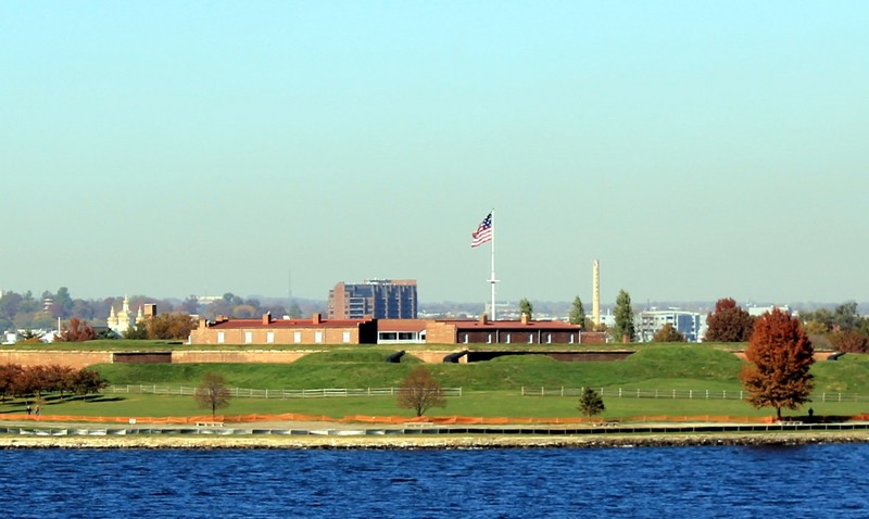 Flag on Ft McHenry