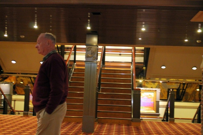 Bob waiting for an elevator