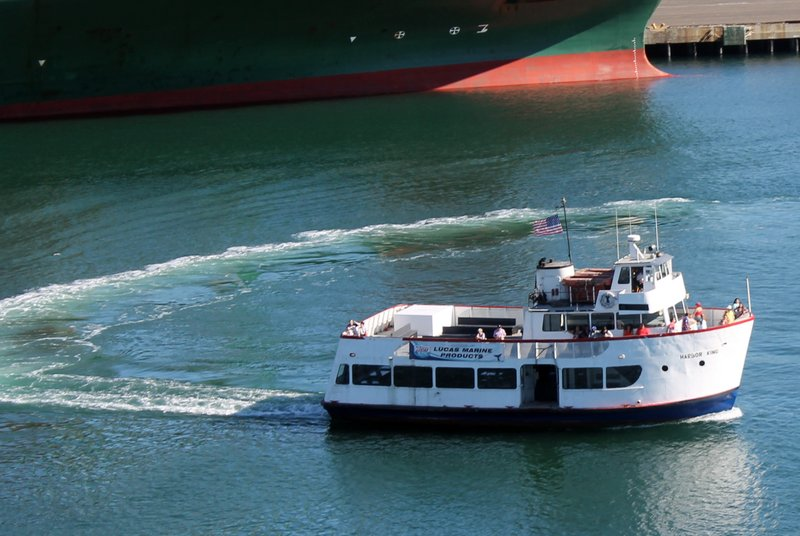 Harbor tour boat