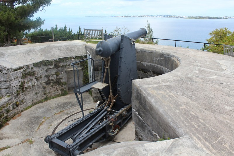 Moncrieff Disappearing Gun Mount