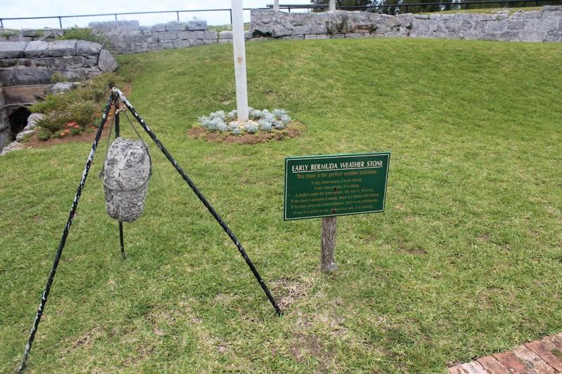 Early Bermuda Weather Stone