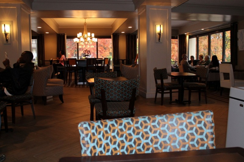 Lobby of the Hampton Inn
