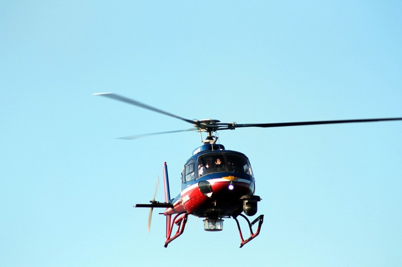 WBAL news copter