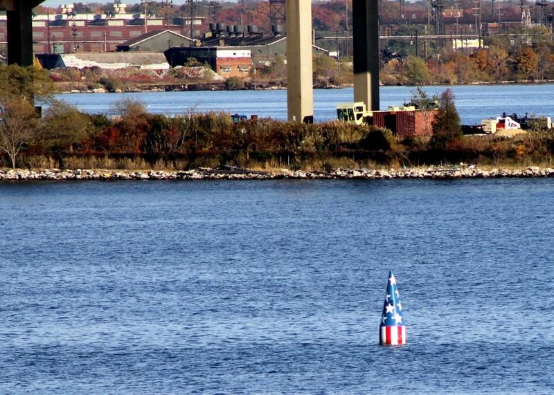 FSK buoy near FSK bridge