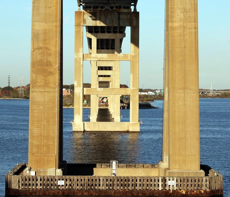 Going under the FS Key bridge