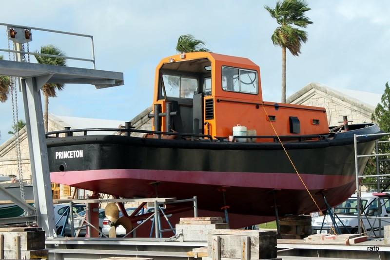 Princeton line handling boat