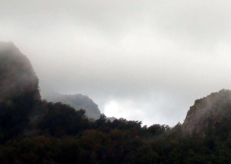 Gap in the clouds