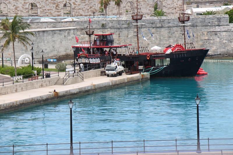 Calico Jack's pirate ship