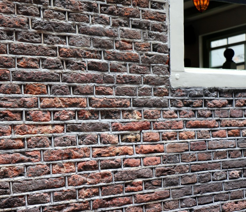 Older buildings have smaller bricks
