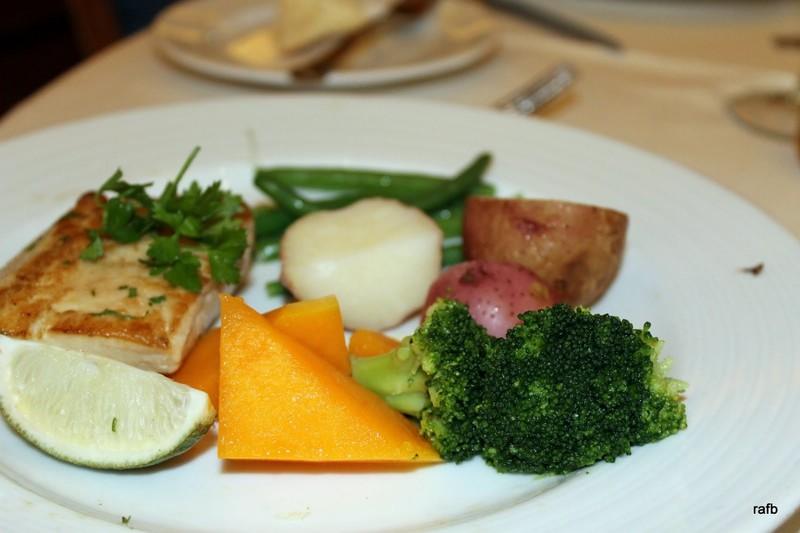 Mahi mahi from every day menu
