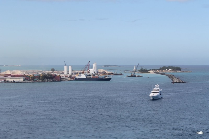 Coming in to Nassau
