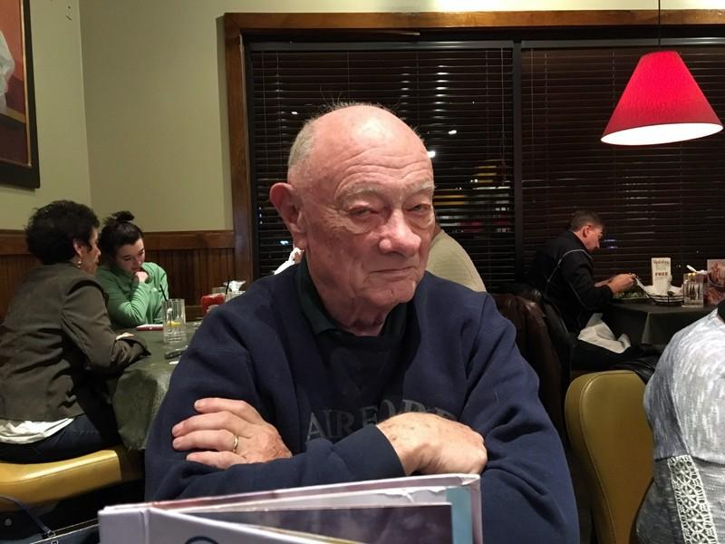 Bob at dinner