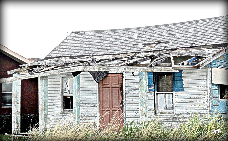 House after hurricane that was 4 years ago