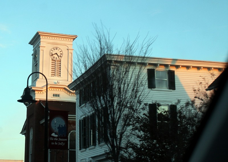 Clock in Middletown