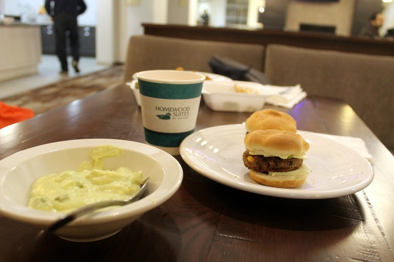 Sliders and soup