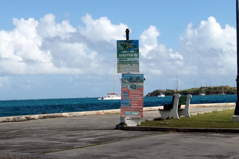 Ferry pickup spot