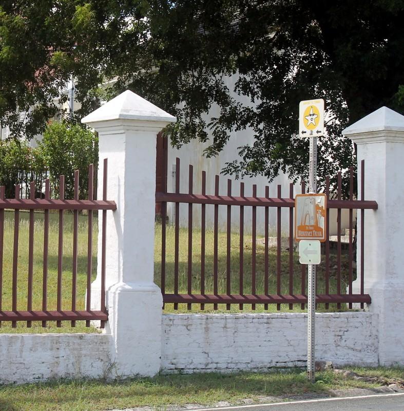 Former cemetery