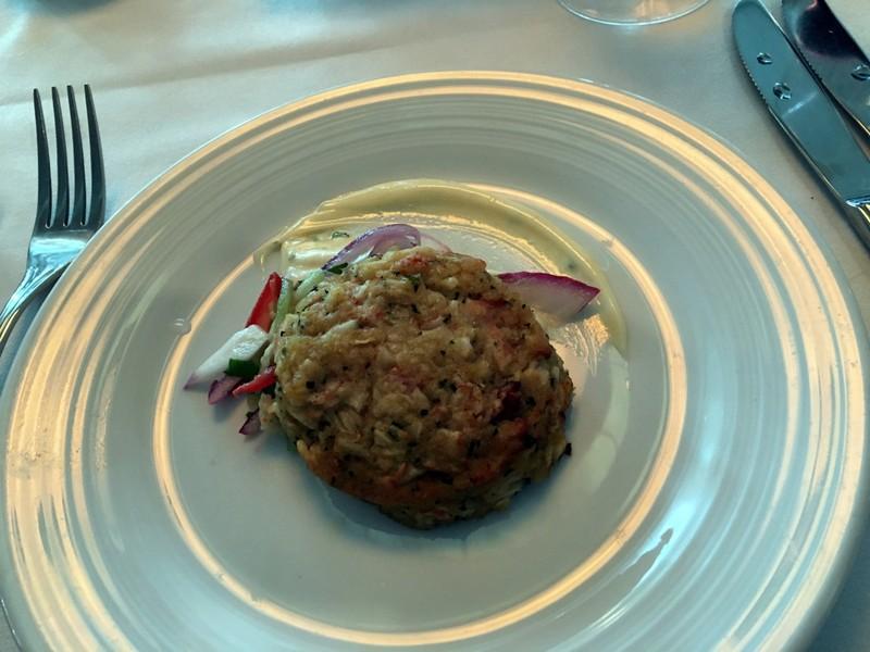 Sauted Maryland Style crab cake